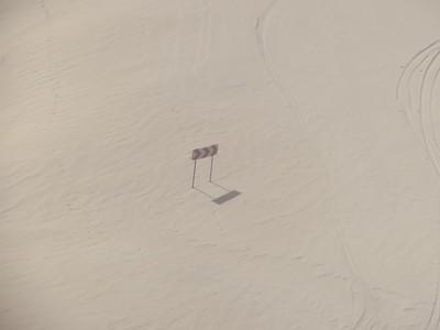כביש ה-Transfăgărășan המכוסה בשלג (מהרכבל)