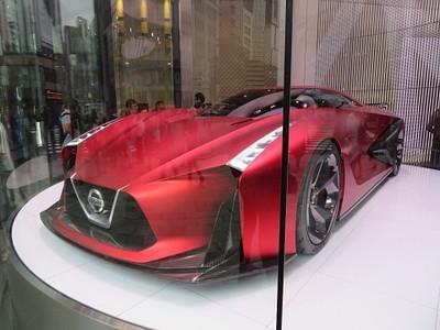 Concept Car עתידני של חברת Nissan