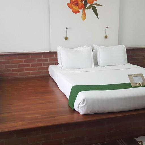 המיטה הכיפית במלון באינלה לייק