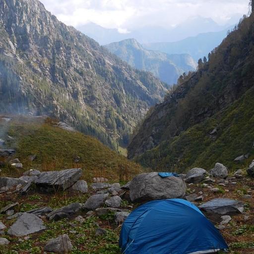 האוהל שלנו ב Chatru Parao