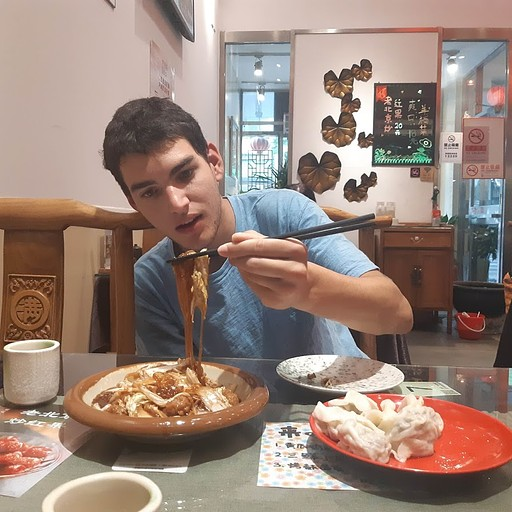 Vegetarian Dumplings בבייג'ינג