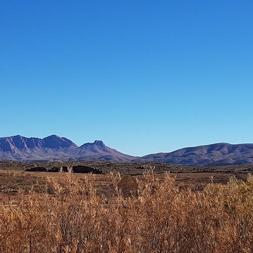 הר סונדר מהתצפית ליד חניון הלילה הראשון 2 מייל