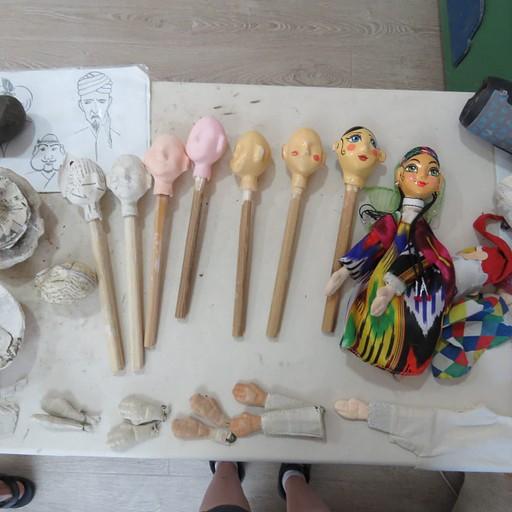 תהליך הכנת הבובות