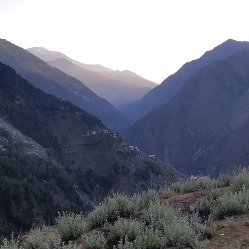נוף מנקודת תצפית בכפר