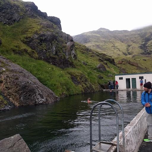 הבריכה הטבעית שלא נכנסנו אליה