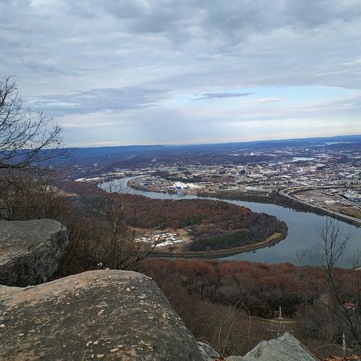 מנקודת התצפית ב Lookout Mountain