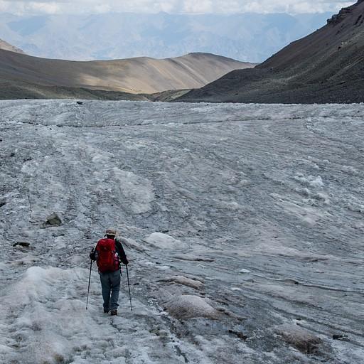 הירידה על הקרחון