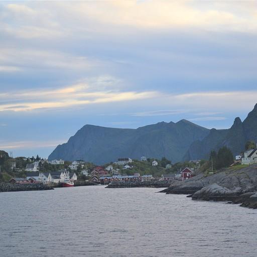 מעגן המעבורת באיי לופוטן