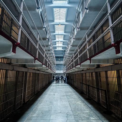 מסדרונות הכלא מעבירים תחושת צמרמורת