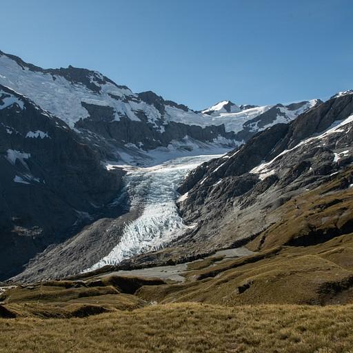 קרחון הdart בטרק הrees dart