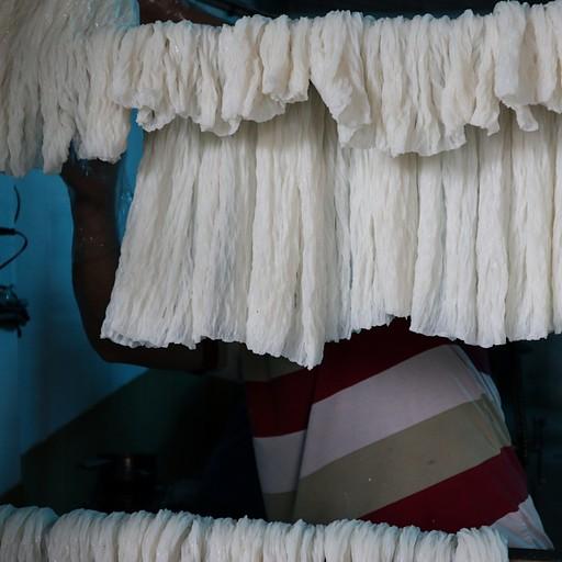 מפעל לנודלס אורז  - חלק מהסיור של מר חואן