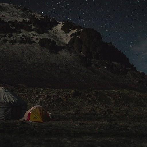 לילה בהיר, מלא כוכבים ויורטה אחת