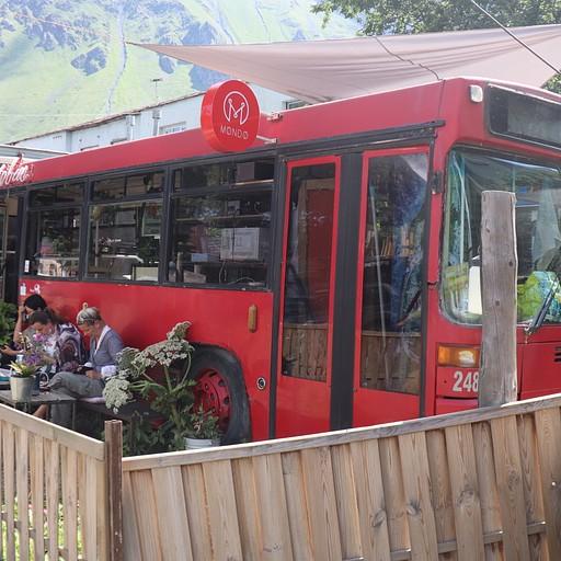 אוטובוס בית קפה