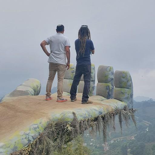 תצפית כף יד ב Hobitenango