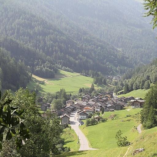 העיירה isseret מלמעלה