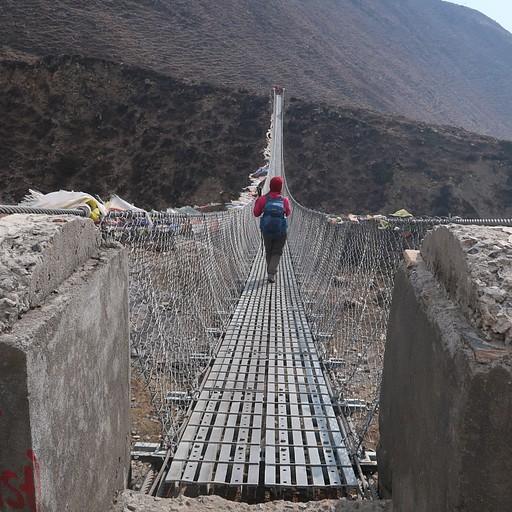 הגשר האחרון בדרך למוקטינט.