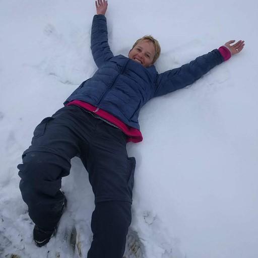 הליכה בשלג הטרי! חוויה מדהימה ומרגשת!