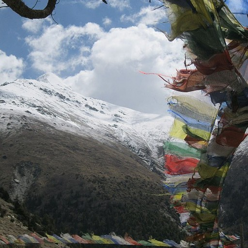 דגלי תפילה מסורתיים