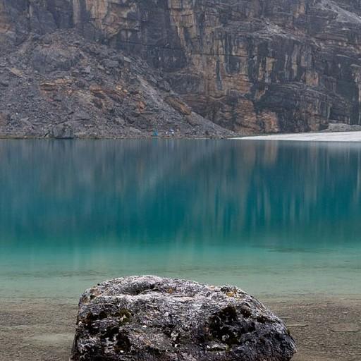 האגם ביום השני