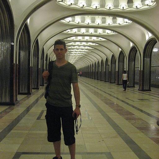 תחנת Mayakovskaya; דוגמן