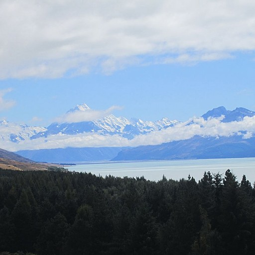 רכס ההרים Mount Cook National Park