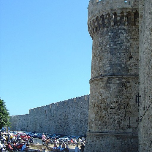 רודוס- שער הכניסה