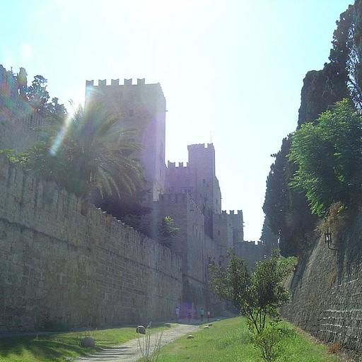 רודוס- מבצר יפה