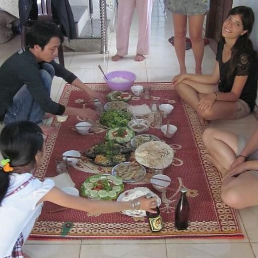הארוחה שהכנו בבית