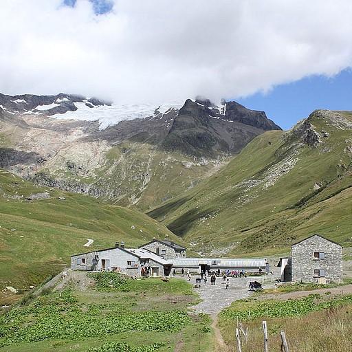 בקתת Refuge de Mottets