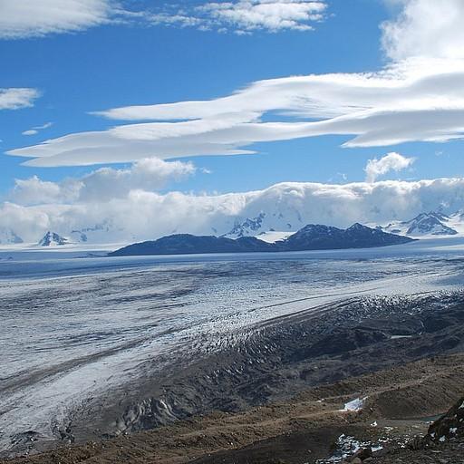 הנוף מהפס - שדה הקרח