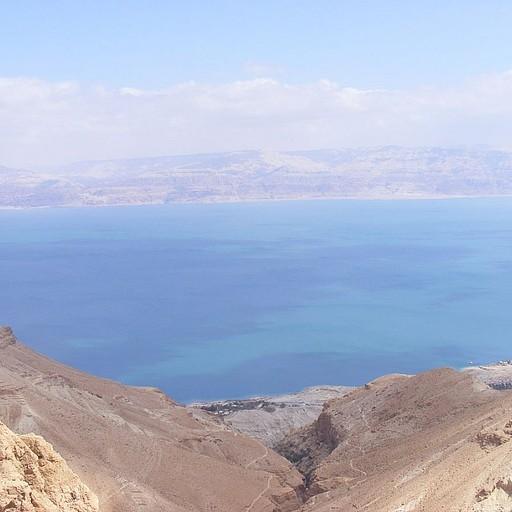 כל הדרך היא בעצם תצפית יפייפיה על ים המלח