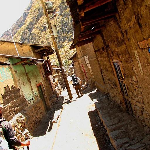 הרחוב הראשי בכפר