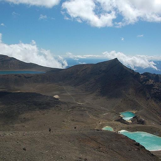 תמונה של הבריכות מפסגת הר טונגרירו