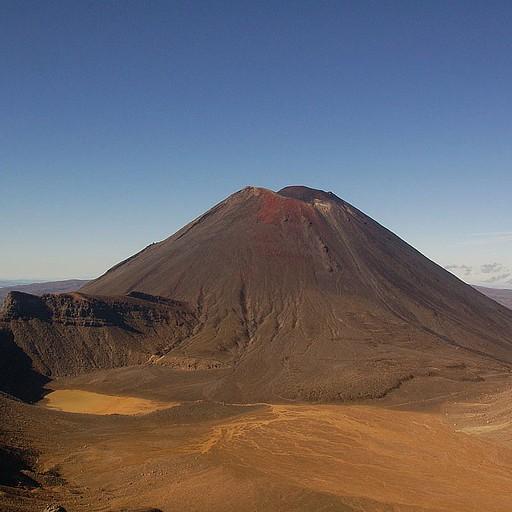 הר האופל המפורסם (Mt. Doom) או בשמו האמיתי Mt. Ngauruhoe