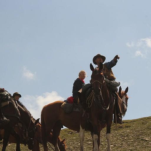 מטיילים על סוסים, חנונים...
