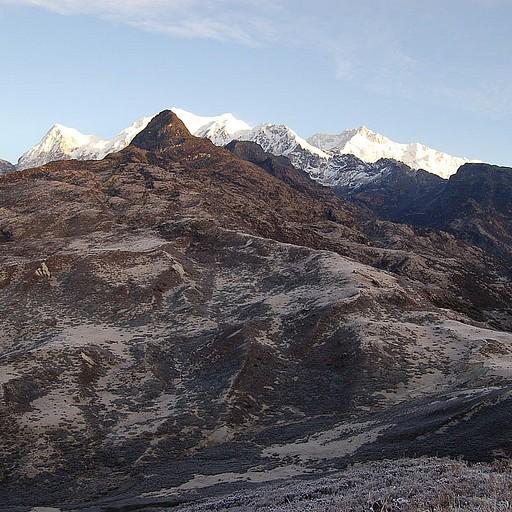 תצפית בוקר צפונה לכיוון הרכס