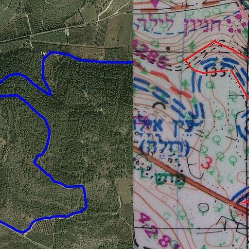 מפת סימון שבילים + מעקב GPS כדי שיהיה כמה שיותר ברור.