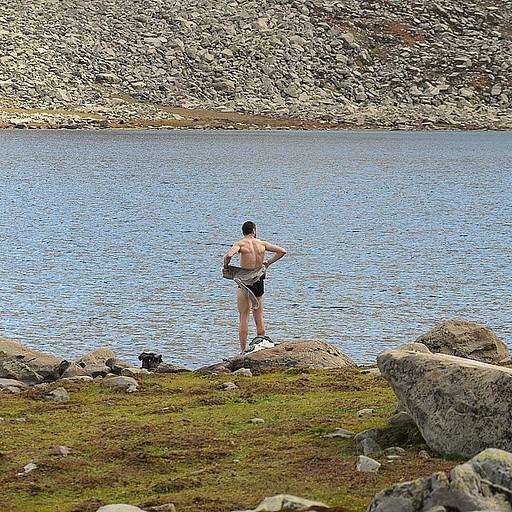 אחרי טבילה באגם השלישי