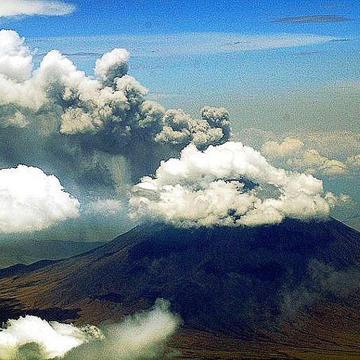 ההר מתפרץ ב 2008 (ויקיפדיה)