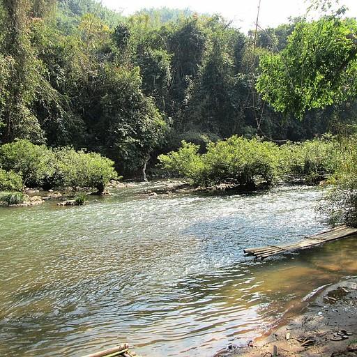 הנהר בו התרחצנו