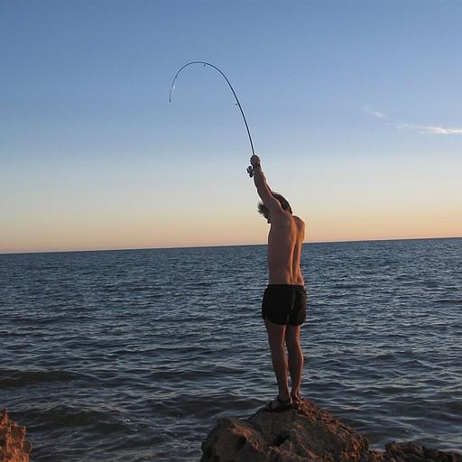 דיג לקראת ערב