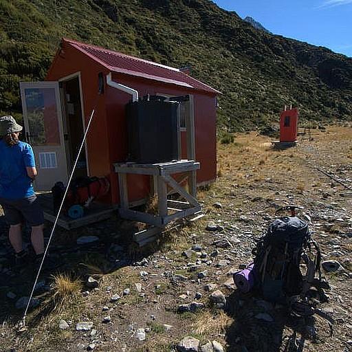 Ball shelter hut
