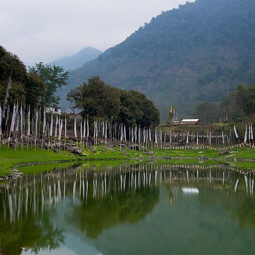 האגם במרכז יוקסום