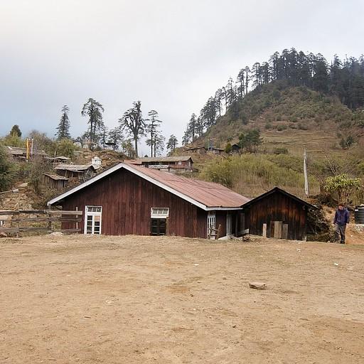 הבקתה ב- Tshoka