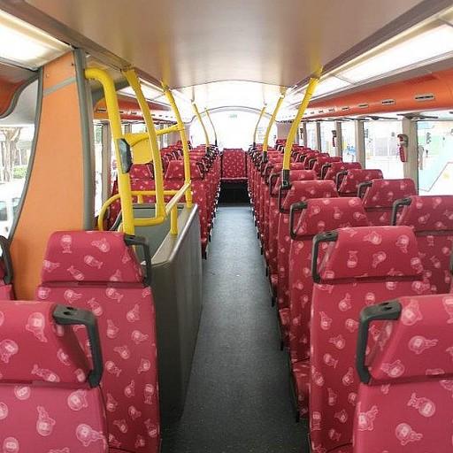 קומה 2 באוטובוס- מומלץ!