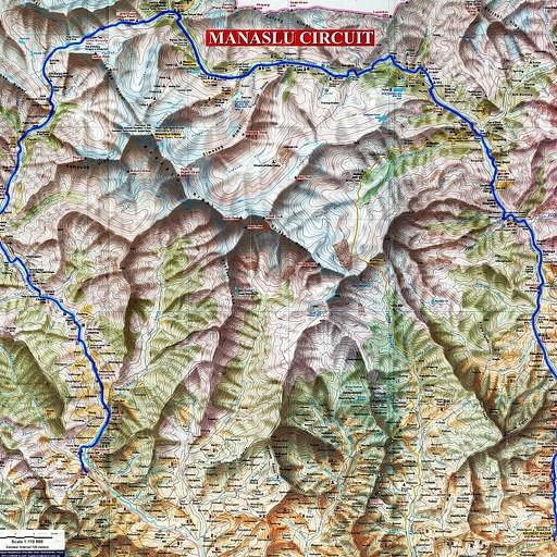 מפה מעולה של הטרק