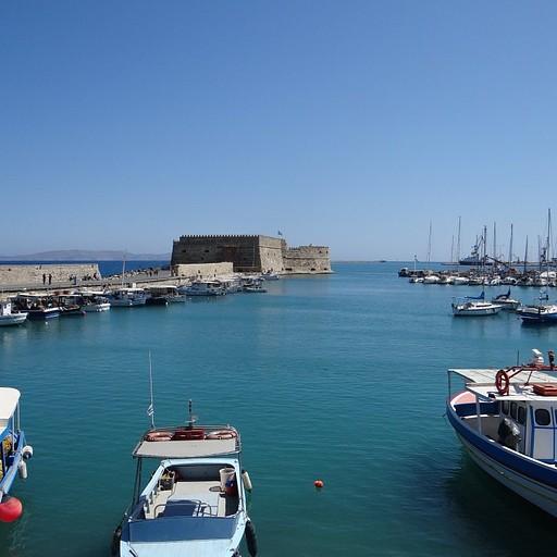 נמל עתיק בהרקליון