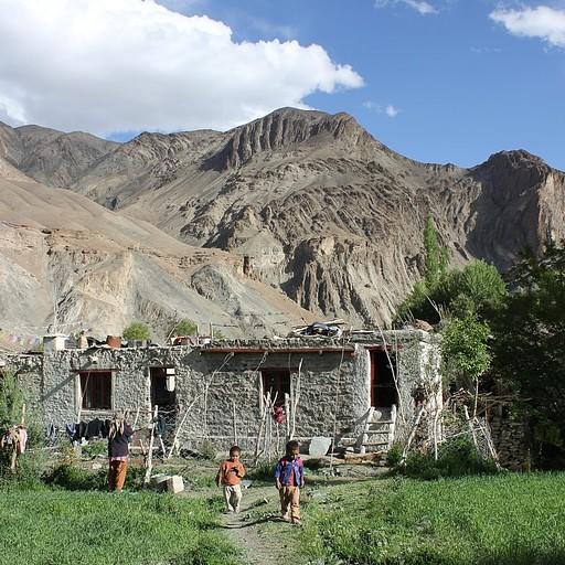 הבית בו התארחנו בכפר Sumda Do