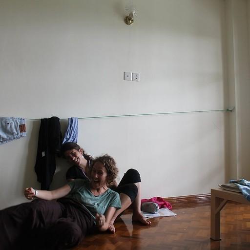 החדר שקיבלנו במנזר