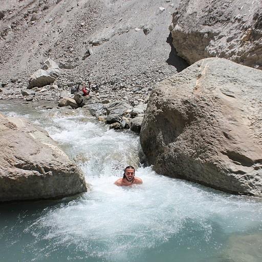 בריכות מים בנחל המרקה